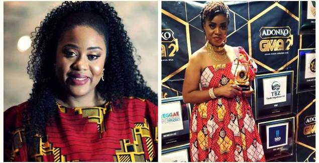 Maureen Biniyam Wins Us Based Uncovered Artiste Of The Year At Ghana Music Awards USA