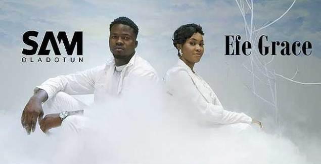 Sam Oladotun featuring Efe Grace performing Ayeyi Praise Music Video.