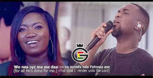 Joe Mettle featuring Love Gift performing Nkwagye Kuruwa Music Video.