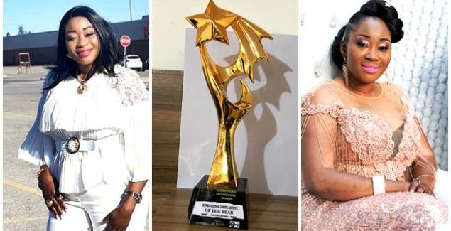 Perpetual Nhyiraba Grabs International Gospel Artiste of the Year At the Ghana Young Entertainers Awards