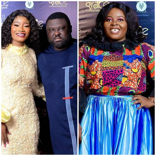 """US-based Ghanaian gospel songstress, Millicent Yankey thrilled gospel lovers at her maiden worship concert """"Grace Experience""""."""