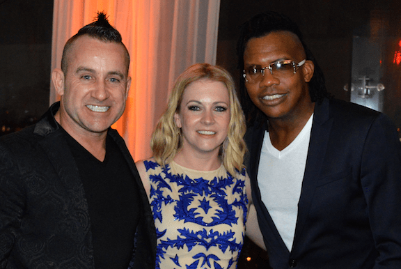 Newsboys' Duncan Phillips, Melissa Joan Hart, Newsboys' Michael Tait