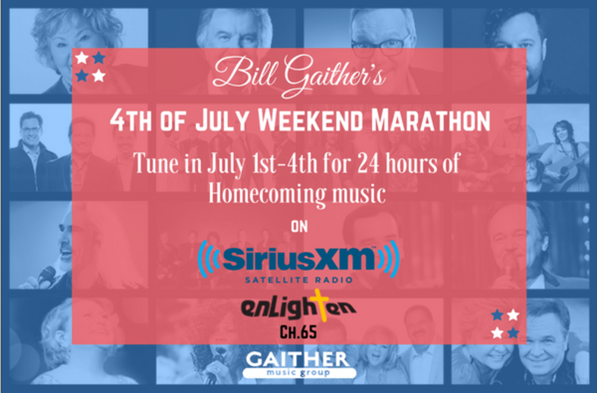 Sirius XM to Partner with Gaither Music Group for a 4th of July ...