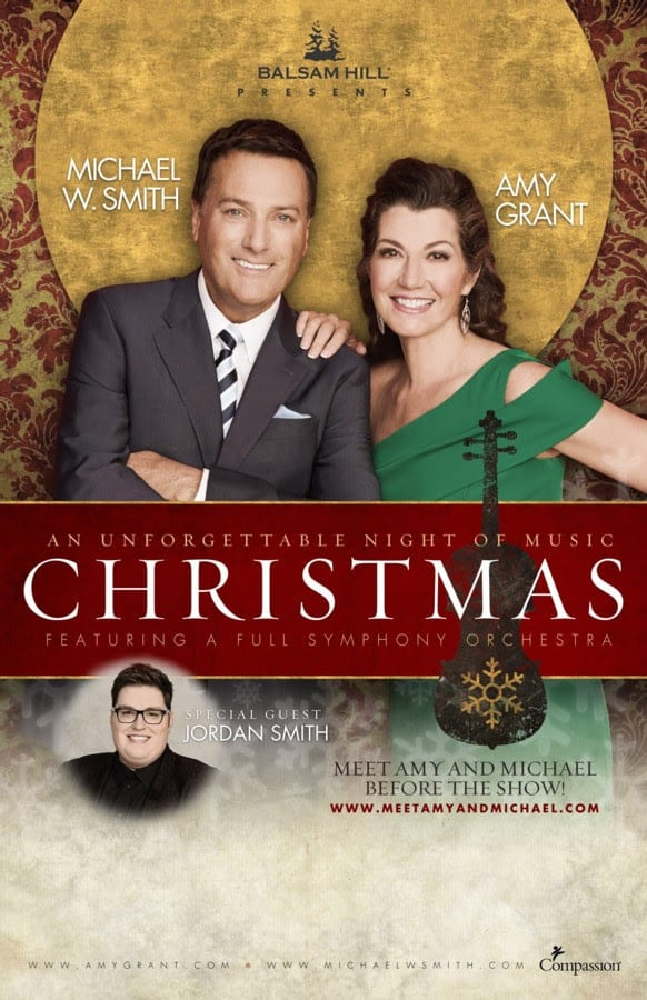 Amy Grant, Michael W. Smith Announce 2017 Christmas Tour Featuring ...