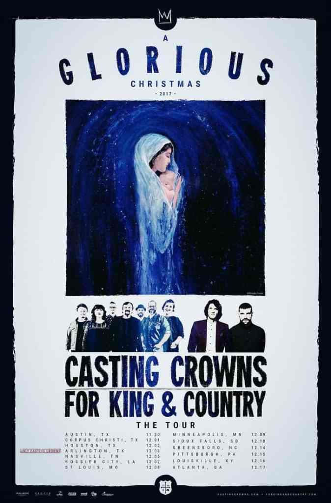 Casting Crowns, for KING & COUNTRY Announce A Glorious Christmas ...