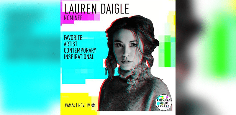 Lauren Daigle Nominated For Second American Music Award ...