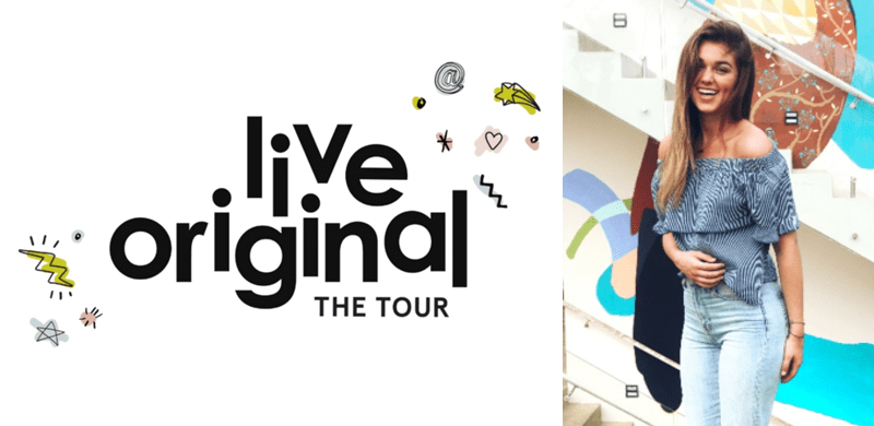 Sadie Robertson's LIVE ORIGINAL TOUR Brought to you by