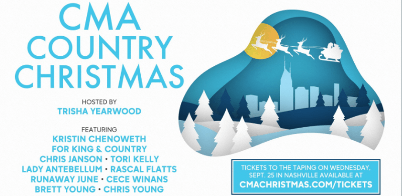 Cma Country Christmas 2020 Lineup CeCe Winans and For KING & COUNTRY Join CMA Country Christmas Line