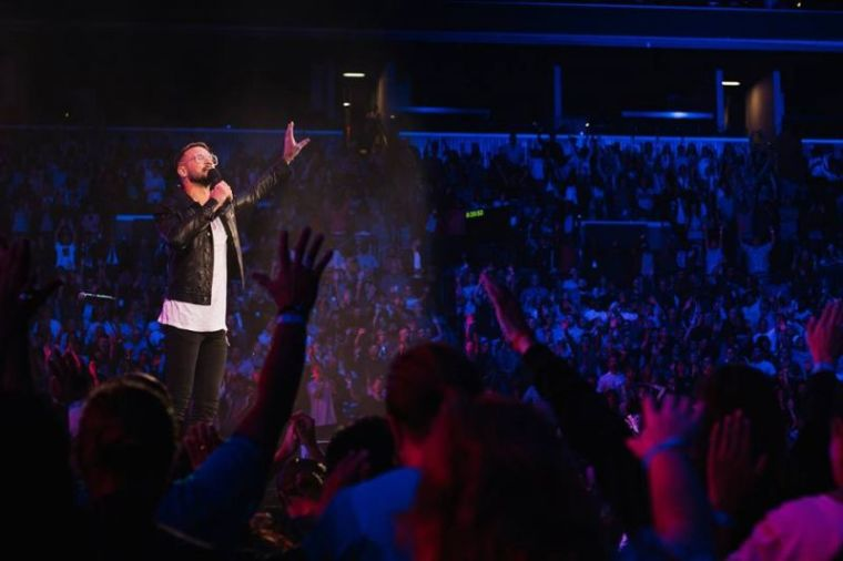 Carl Lentz o ex-pastor da Hillsong Church, em New York