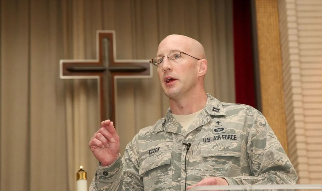 Chaplain Curtis Cizek