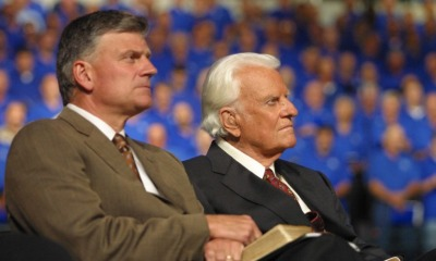 Franklin Graham com o pai, Billy Graham