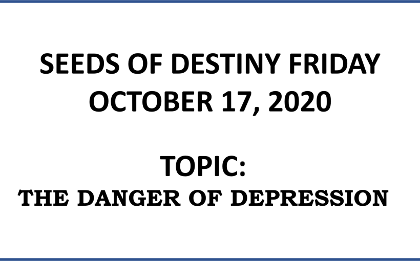 Seeds of Destiny Saturday 17th October 2020 by Dr Paul Enenche