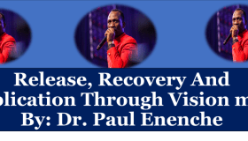 Release, Recovery And Replication Through Vision mp3 By: Dr. Paul