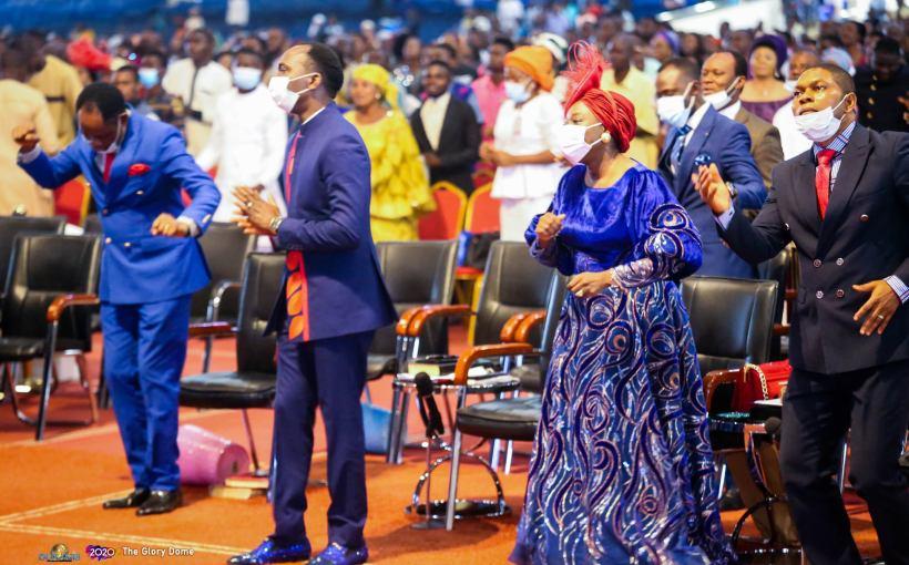 High Praise by The Glory Dome Choir Lead by Favour Joseph