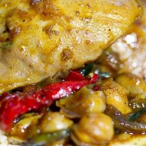 Marrakesh Chicken and Vegetable Tagine