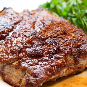 Rubbed Grilled Steak