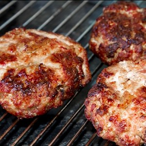 Hot and Spicy Pork Burgers