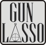 Gun Lasso Logo Stacked
