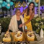 Elisabetta Gregoraci, grande festa per i 100 anni della nonna: foto