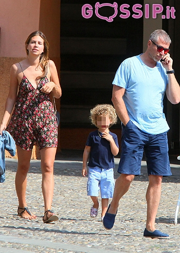 Che Vitaccia In Totale Relax A Portofino Per Roman Abramovich E Dasha Zhukova Con Il Figlio