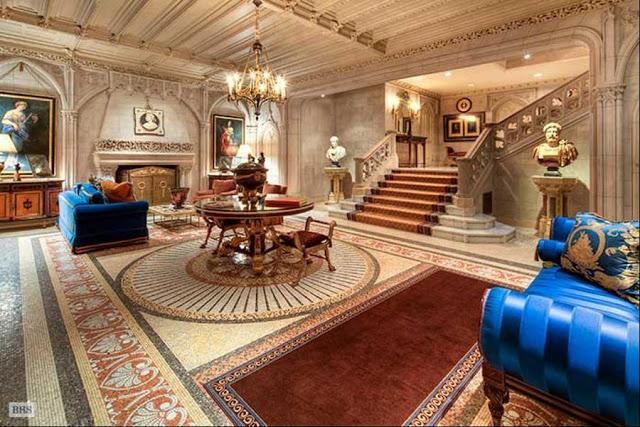 Bill Gates Interior House