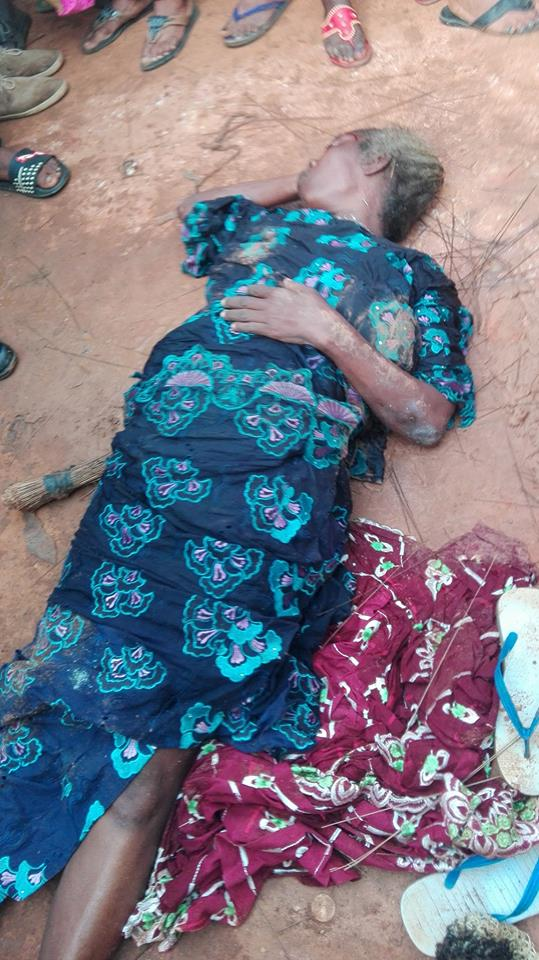 owl1 - Photos: Old Witch Turns Into A Bird In Lagos After Been Seriously Flogged With Brooms