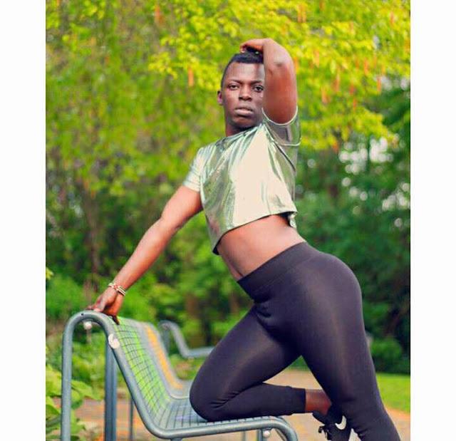 slay1111111111111111 - Photos: Kenyan Man Shows Off His Gigantic Backside In Sexy Dress