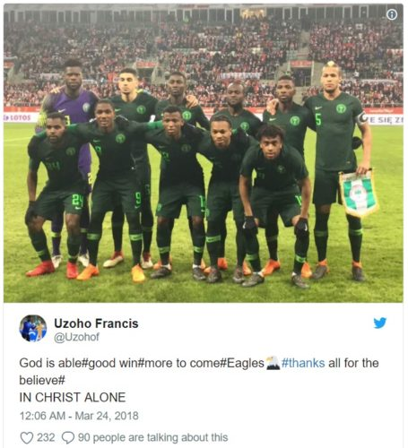Francis Uzoho 01 455x500 - Photos: Meet Francis Uzoho, Super Eagles Of Nigeria's New Goal Keeper He Is Very Young just 19years old