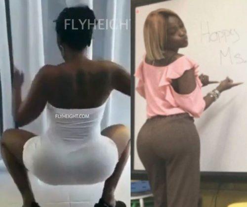 'Teacher' Underfire For Releasing A Twerk Video On Social Media (Video/Photos) 2