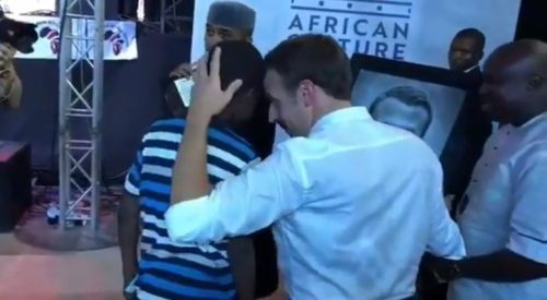 wassap 500x275 - 11year Old Nigerian Boy Draws President Of France In Just 2hours Live At The Afrikan Shrine In Lagos