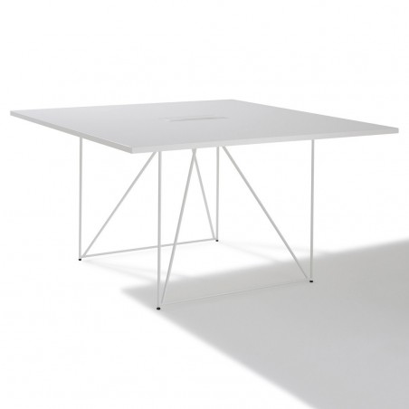 table de reunion carree archi 4 a 6 personnes