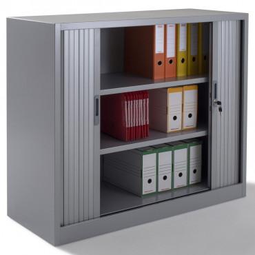armoire a rideaux monobloc h105xl120xp46 cm