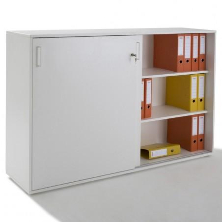 armoire 2 portes coulissantes bois