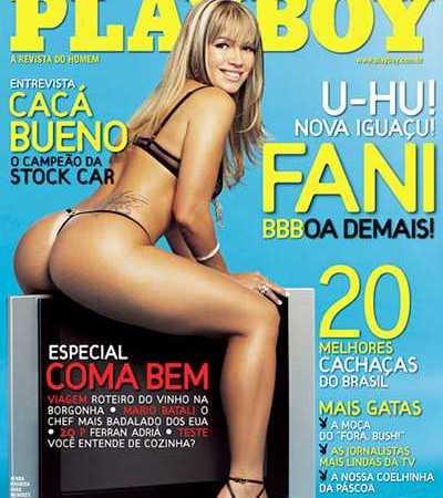Fani Pacheco Nua Playboy