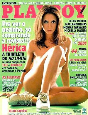 Herica Sanfelice Nua Playboy