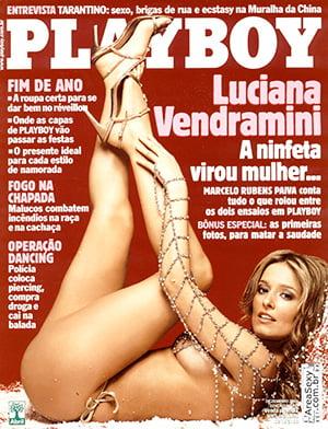 Luciana Vendramini Nua Playboy
