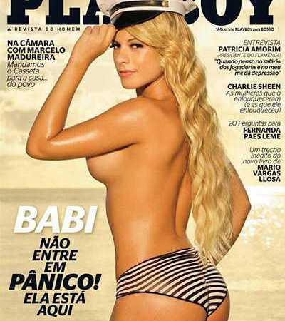 Babi Rossi Nua Playboy