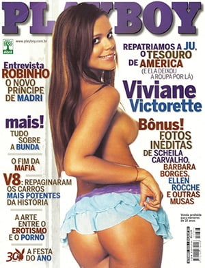Viviane Victorette Nua Playboy