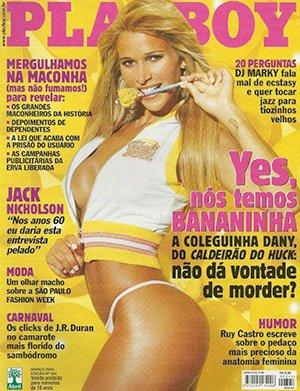 Dany Bananinha Nua Playboy