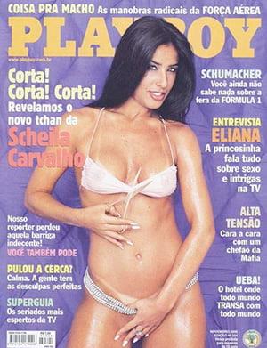 Scheila Carvalho Nua Playboy