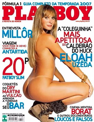 Eloah Uzeda Nua Playboy
