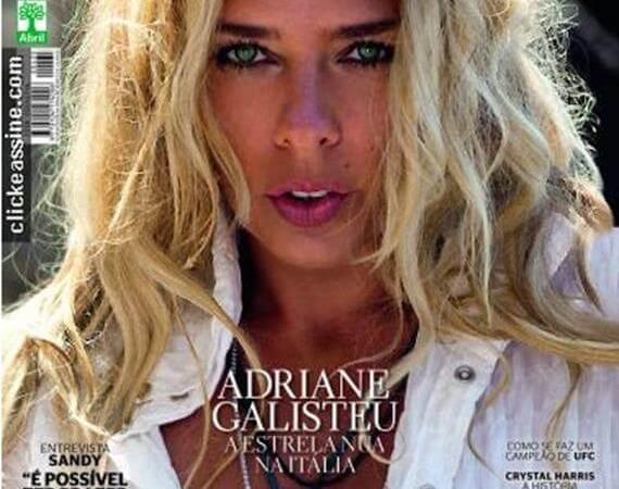 Adriane Galisteu pelada na Playboy Grátis