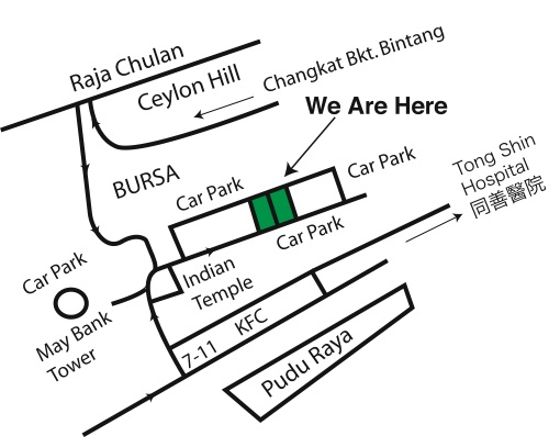 Coconut House KL Map