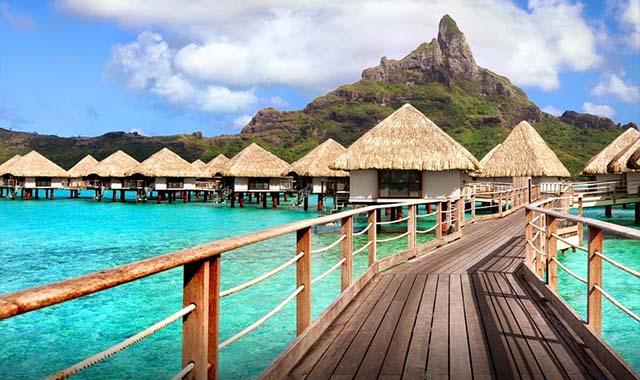 Beaches Bora Bora Tahiti Girl