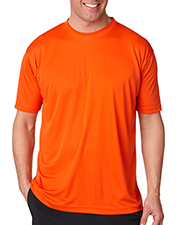 UltraClub Adult Cool-N-Dry Sport Performance Interlock Crew