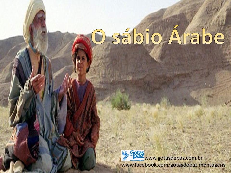 O sábio Árabe