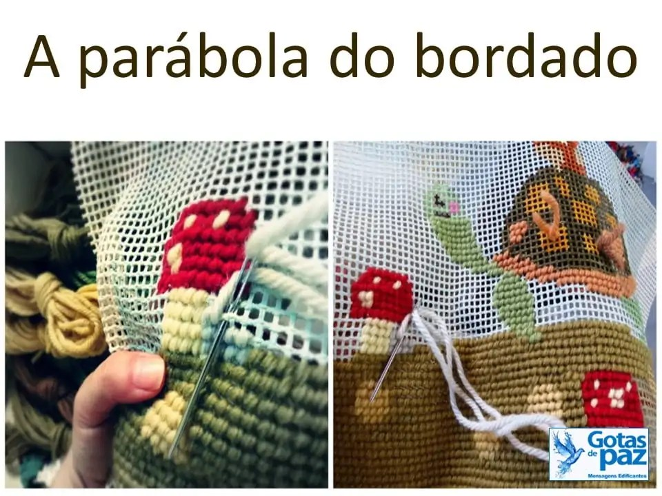A parábola do bordado