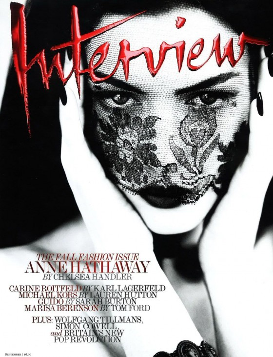 Anne Hathaway – Interview Magazine – September 2011