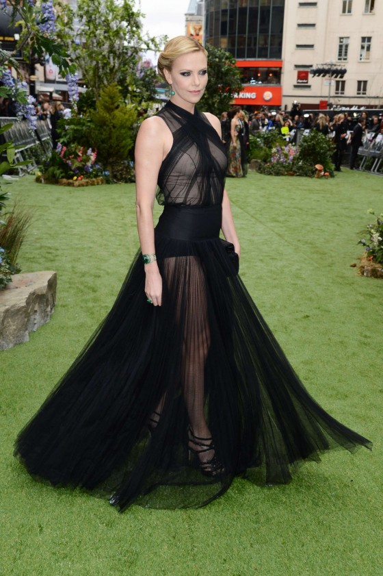 Charlize Theron – Snow White and the Huntsman World Premiere in London