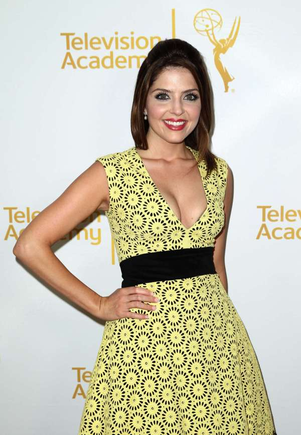 Jen Lilley – Daytime Emmy Nominee Reception – GotCeleb